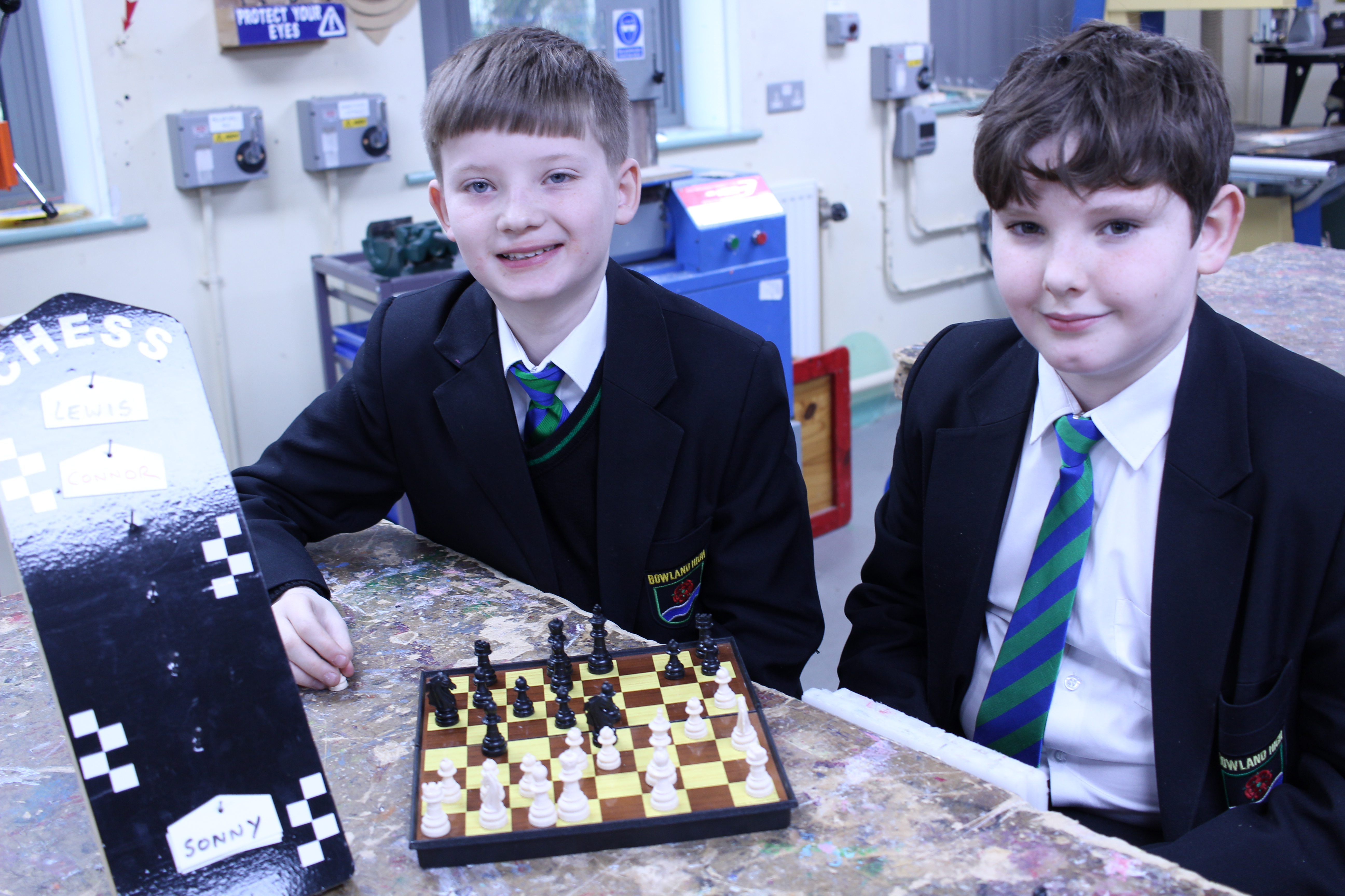 Chess Club and Toy Making Club
